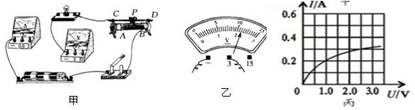 电压表没有示数,电流表指针有明显偏转