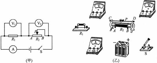 """小明探究""""通过导体的电流与电压的关系""""时"""