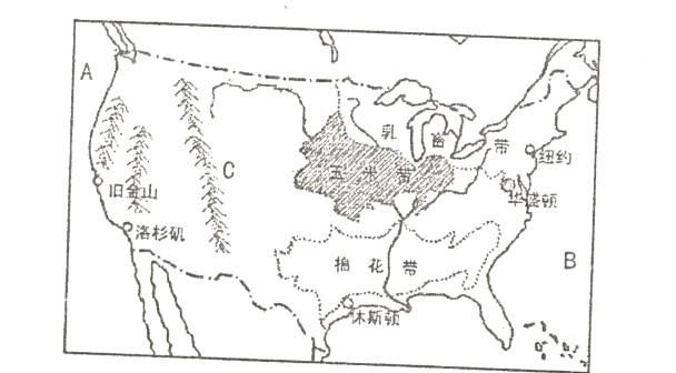 美国地理海报手绘