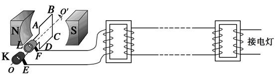 185、【计算题】 (4分)(2011海南)如图:理想变压器原线圈与10V的交流电源相连,副线圈并联两个小灯泡a和b,小灯泡a的额定功率为0.3w,正常发光时电阻为30,已知两灯泡均正常发光,流过原线圈的电流为0.09A,可计算出原、副线圈的匝数比为 ,流过灯泡b的电流为 A.