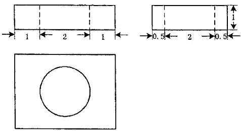 1圆柱的侧面展开图是边长为和的矩形,则圆柱的体积
