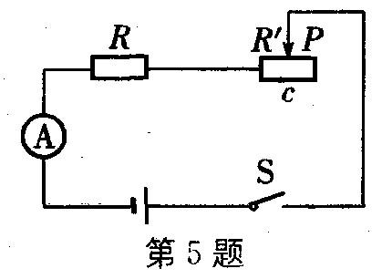 初中物理有关led灯的电路图