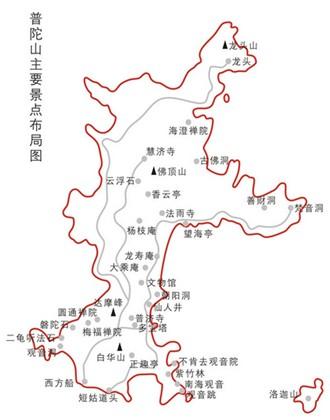 浙江海岛分布图
