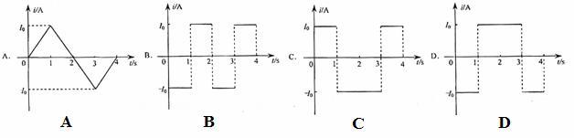 861、【单选题】 如图所示,两个端面半径同为R的圆柱形铁芯同轴水平放置,相对的端面之间有一缝隙,铁芯上绕导线并与电源连接,在缝隙中形成一匀强磁场.一铜质细直棒ab水平置于缝隙中,且与圆柱轴线等高、垂直.让铜棒从静止开始自由下落,铜棒下落距离为0.2R时铜棒中电动势大小为,下落距离为0.